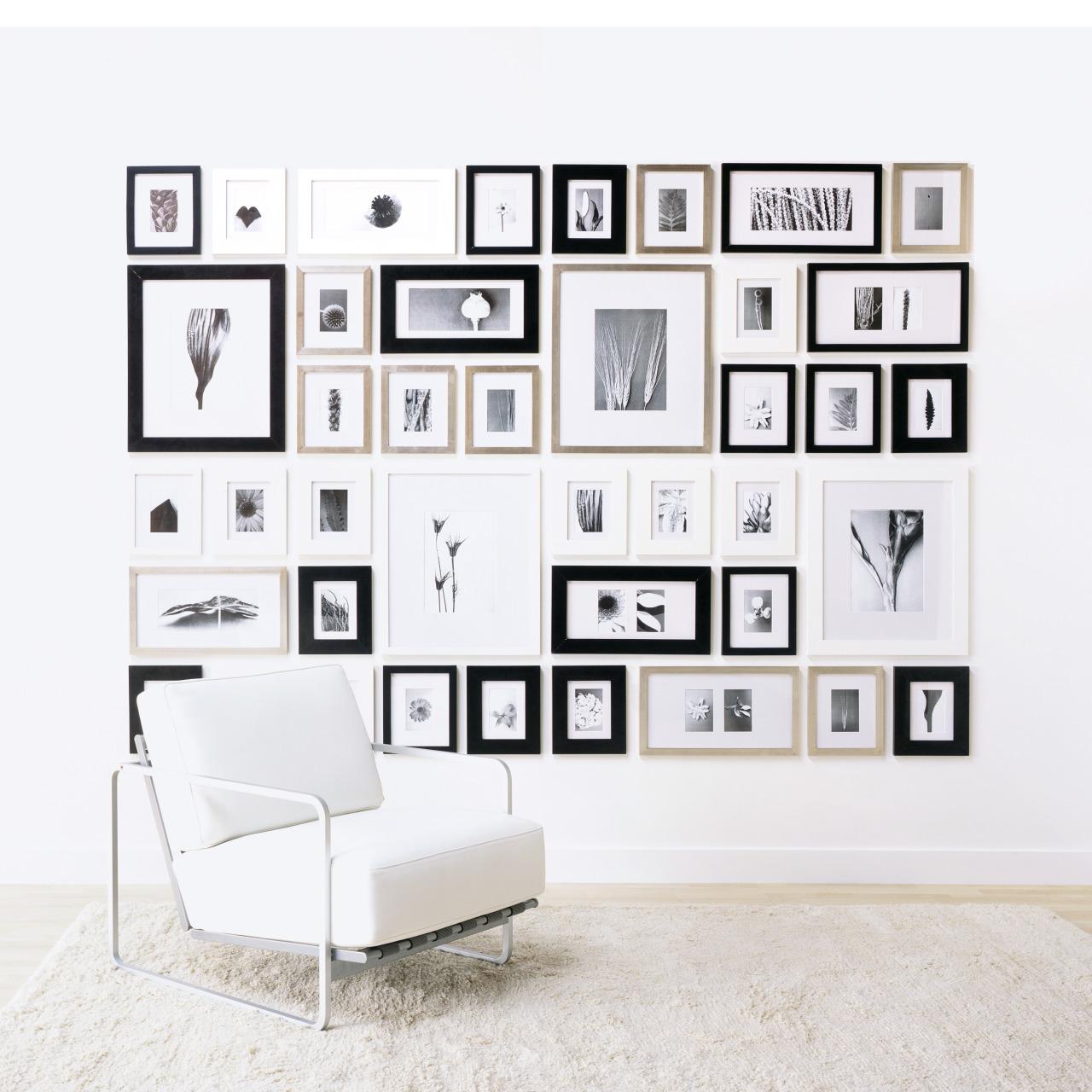 Рамка для фото своими руками черно белая