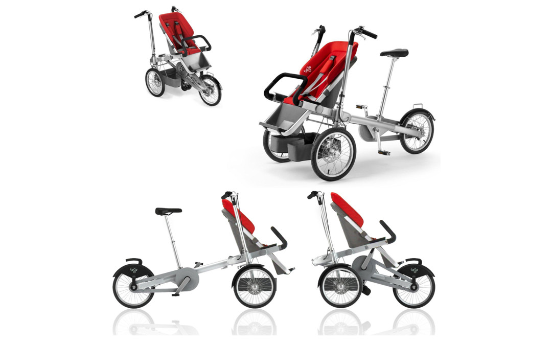It's a Bike….It's a Stroller…Wait…IT'S BOTH!?!?!