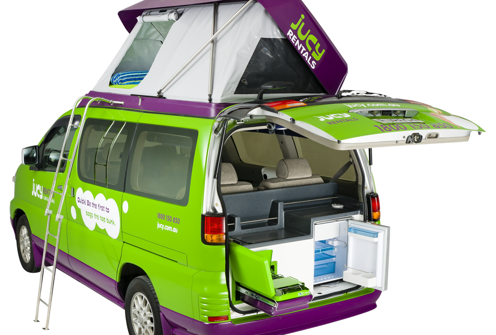 Jucy Rentals – Car Camping for Minimalist Families