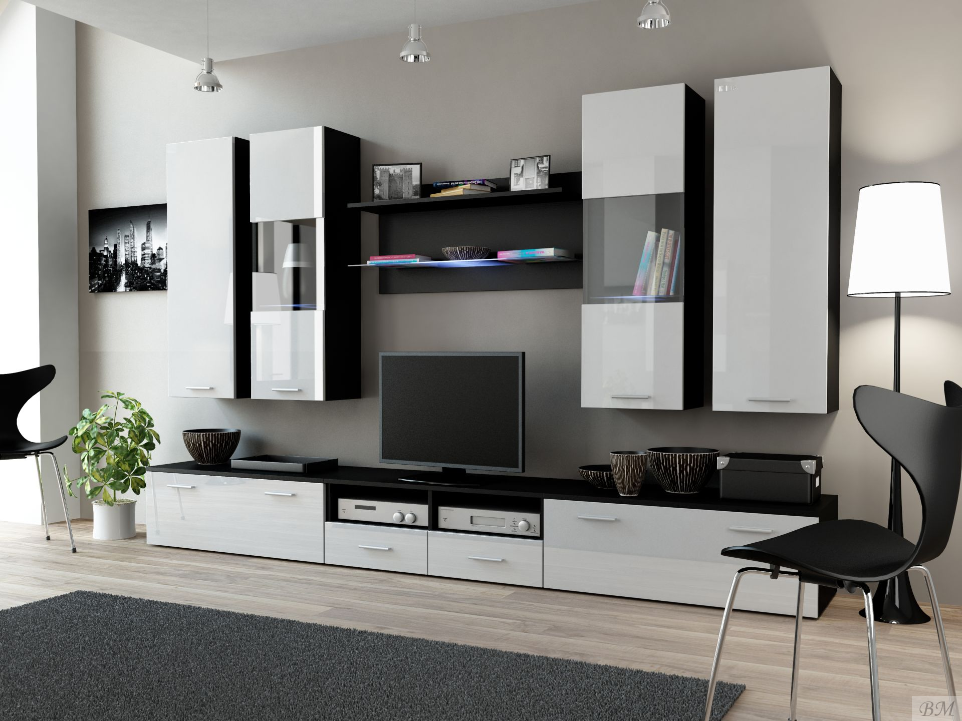attractive-modern-tv-wall-units-with-modern-wall-mounted-cabinet-for-modern-interior-design-decorations-images-tv-wall-units