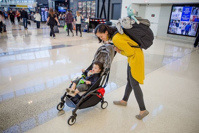 yoyo+ stroller airport travel