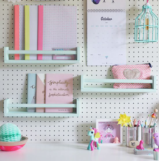 Why you should have a pegboard in your home